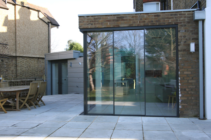 Dovercourt Road Extension Modern dining room by IQ Glass UK Modern