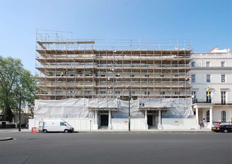 German Embassy London—Façade Restoration Classic offices & stores by ÜberRaum Architects Classic