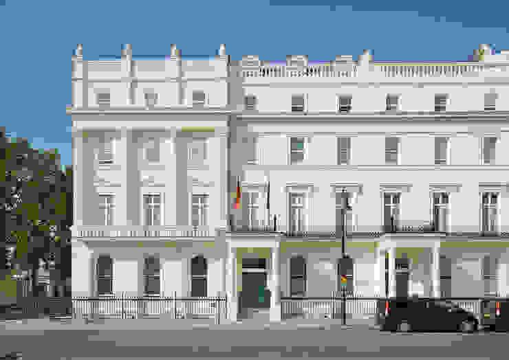 German Embassy London - Façade Restoration ÜberRaum Architects Klasik