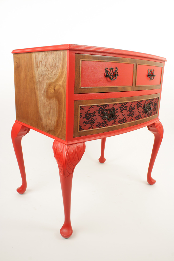 Upcycled vintage side cabinet de Narcissus Road Furniture Design Ecléctico