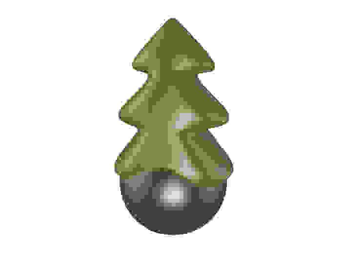 Christmas Tree:  in stile industriale di Gaudenzio Ciotti - Design Studio, Industrial