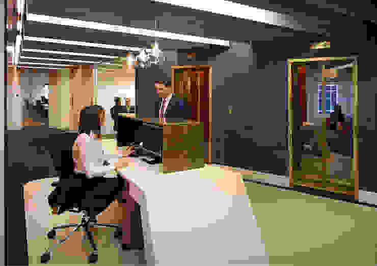 Calastone (fund industry) - London Headquarters Modern event venues by ÜberRaum Architects Modern