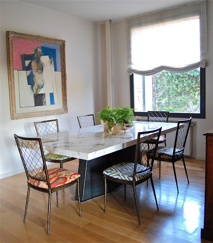 Diseño de comedor de Ines Benavides Moderno