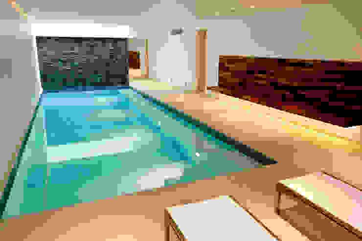 Minimalist Subterranean Pool Modern pool by London Swimming Pool Company Modern