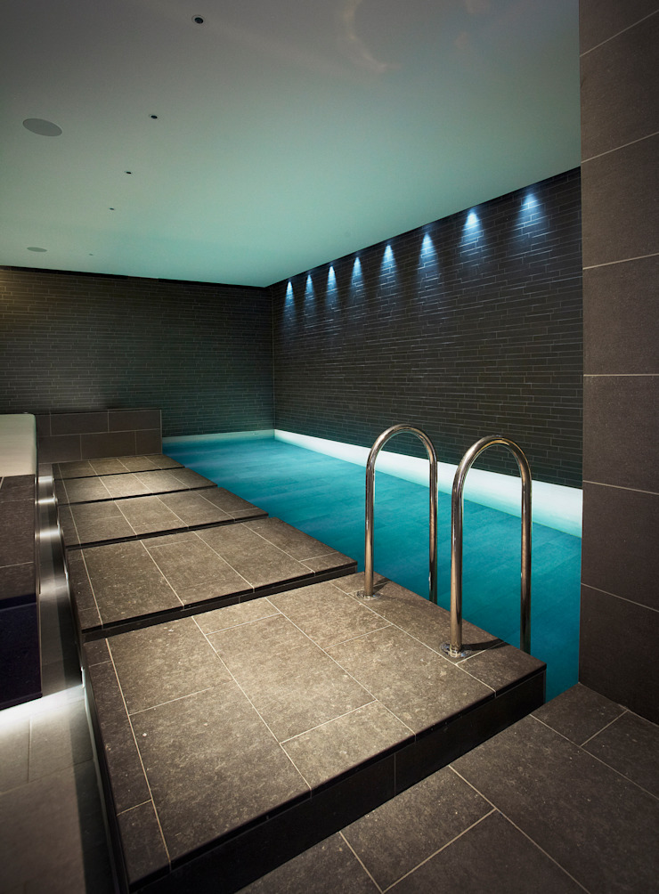 Subterranean Leisure Area Modern pool by London Swimming Pool Company Modern