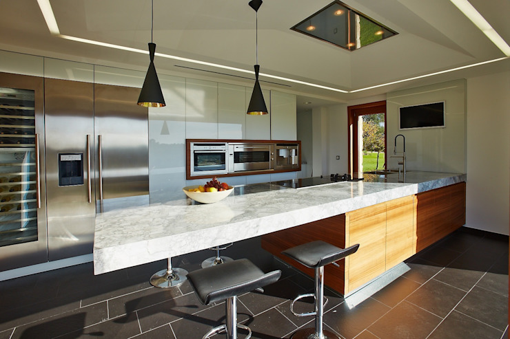 HUGA ARQUITECTOS Kitchen