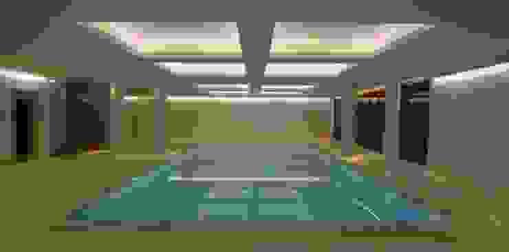 Underground Wellness Area Modern pool by London Swimming Pool Company Modern
