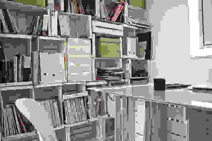 novemetriquadri Studio moderno di manuarino_architettura+design Moderno