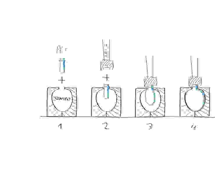 Blow Moulding - Sistema di produzione del diffusore di Gaudenzio Ciotti - Design Studio