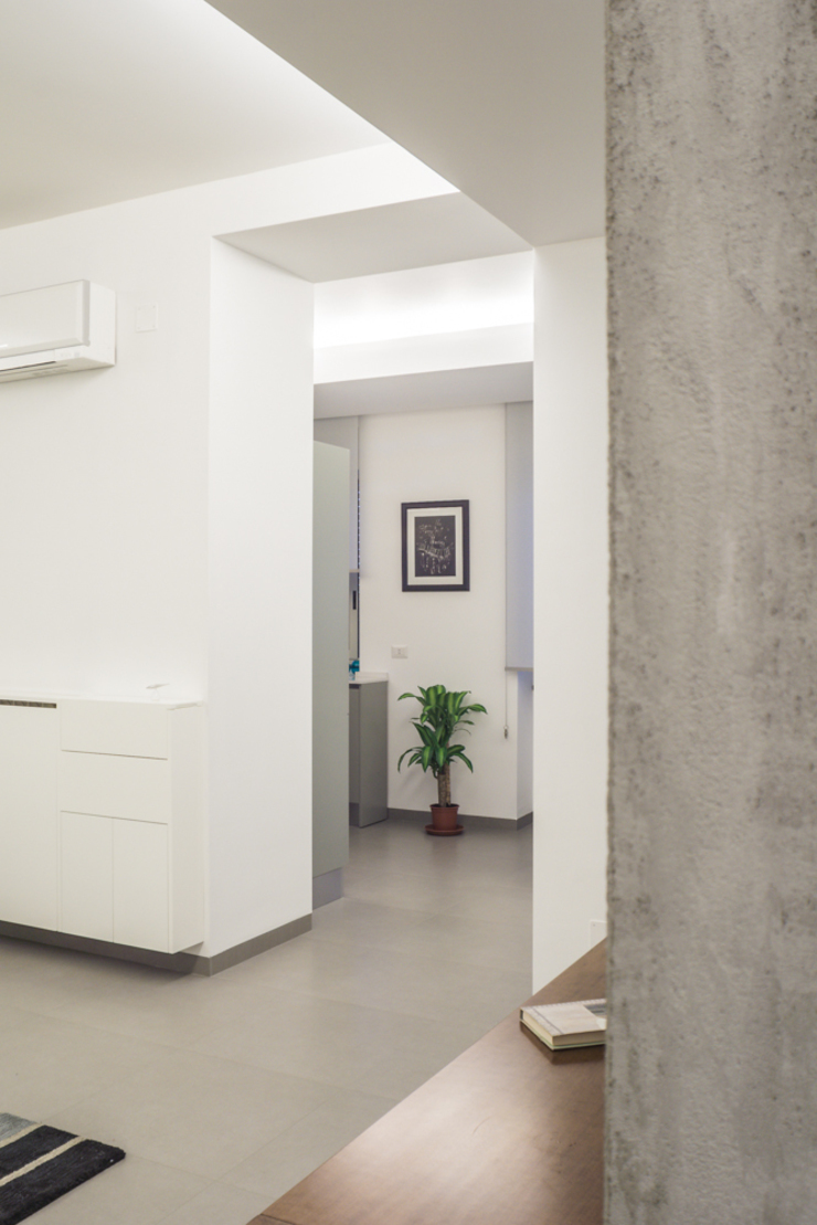 Salones de estilo moderno de manuarino_architettura+design Moderno