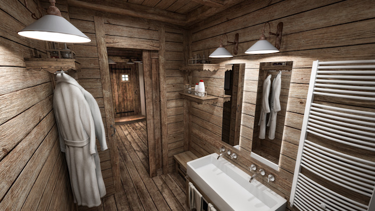 Bathroom by studiosagitair,