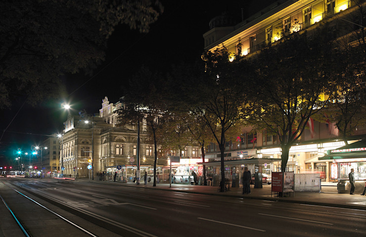 Vienna State Opera Rooms by podpod design