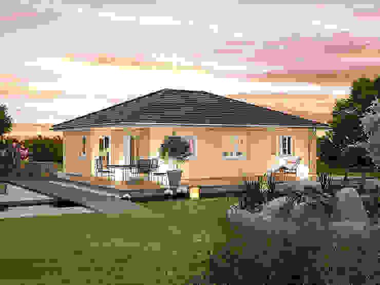 現代房屋設計點子、靈感 & 圖片 根據 Hanlo Haus 現代風