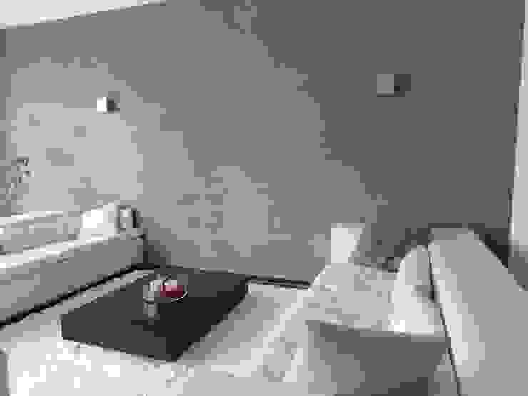Wände mit Charakter Livings de estilo moderno