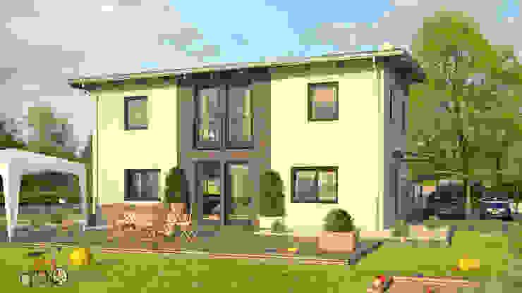 City 146: modern  von Bau mein Haus - eine Marke der Green Building Deutschland GmbH,Modern