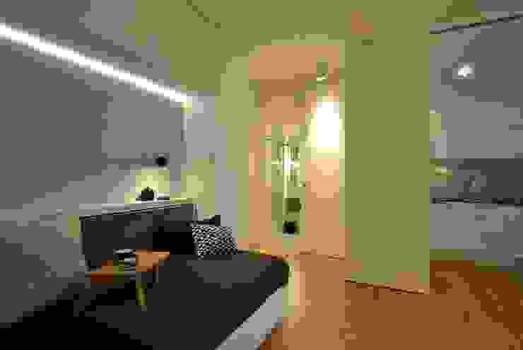Ferienwohnung KJUBiK Innenarchitektur Moderne Wohnzimmer