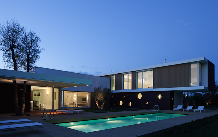 Modern Houses by Cannata&Partners Lighting Design Modern