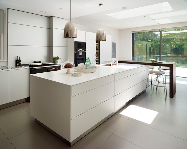 Victorian house conversion Modern kitchen by Genevieve Hurley Interiors Ltd Modern