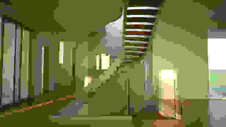 Scale ad arco, Destin, Florida di Siller Treppen/Stairs/Scale Moderno Legno Effetto legno