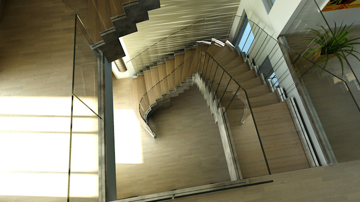 modern  by Siller Treppen/Stairs/Scale, Modern Wood Wood effect