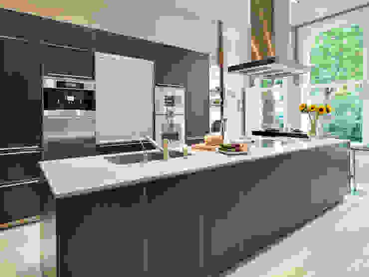 Luxury London apartment Cucina moderna di Kitchen Architecture Moderno