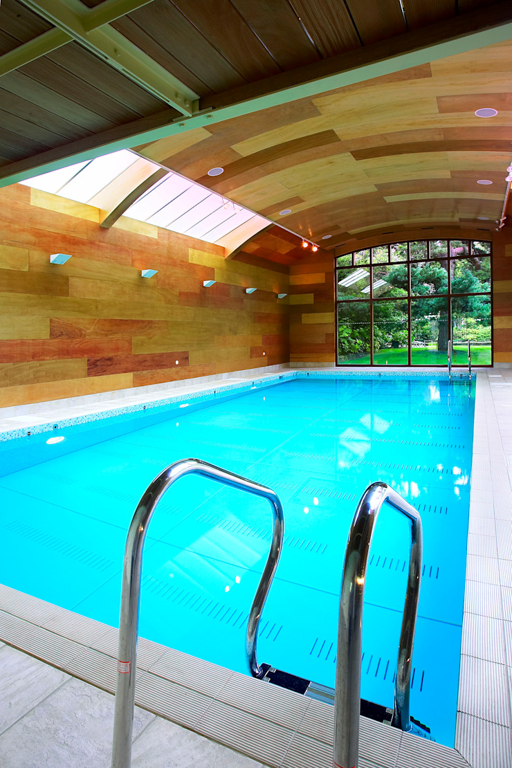 Concert Hall Moving Floor Pool Modern pool by London Swimming Pool Company Modern