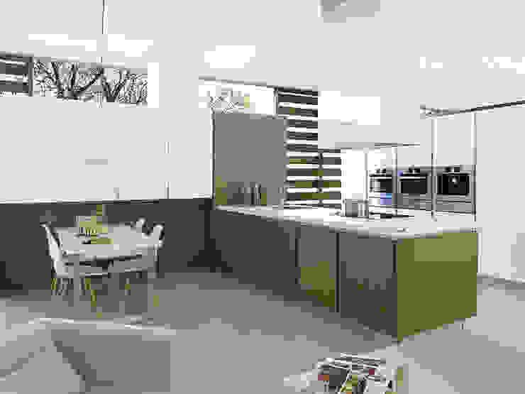 Kitchen KRION Solid Surface: modern  by Porcelanosa Scotland , Modern