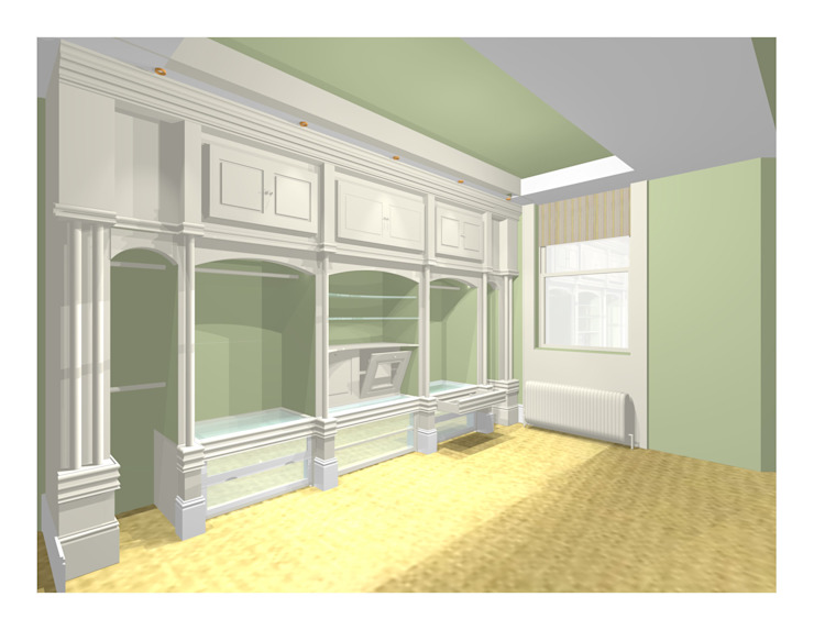 CAD DRAWING Country style dressing room by 2A Design Country