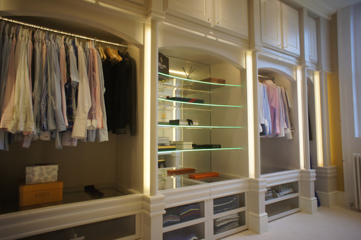 DRESSING ROOM FOR PRIVATE CLIENT Closets por 2A Design Campestre