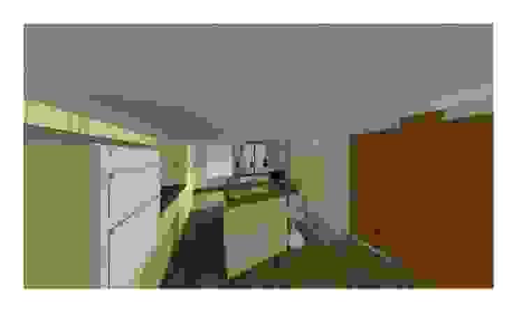 QUICK CAD DRAWING Modern kitchen by 2A Design Modern