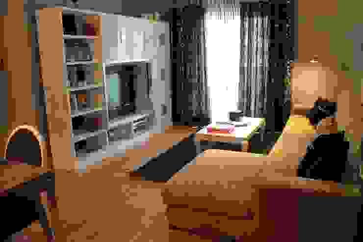 Decoración de salón Livings de estilo moderno de Ámbar Muebles Moderno