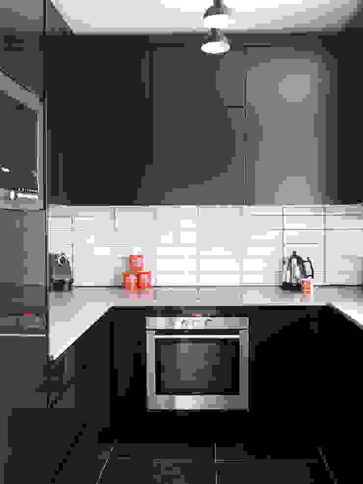 Marylebone LEIVARS Modern kitchen