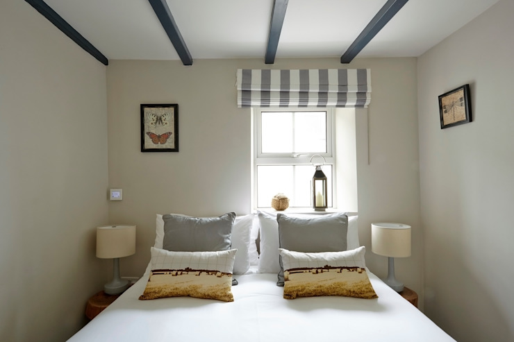 Porthleven Eclectic style bedroom by LEIVARS Eclectic