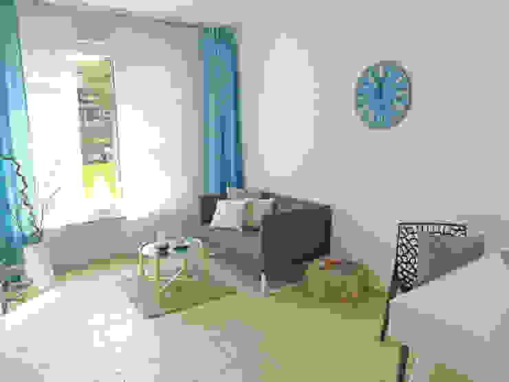 Gästezimmer nachher Moderne Schlafzimmer von raumessenz homestaging Modern