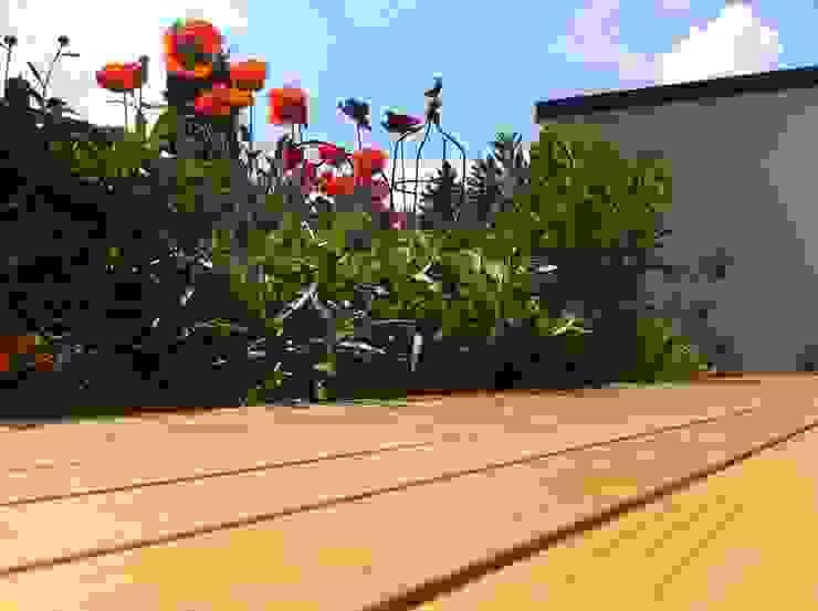 Holzterrassen mit Clip verdeckt montiert BS - Holzdesign Garten