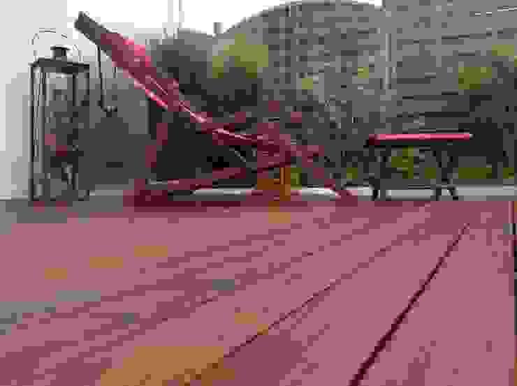 Holzterrassen mit Clip verdeckt montiert Garten von BS - Holzdesign