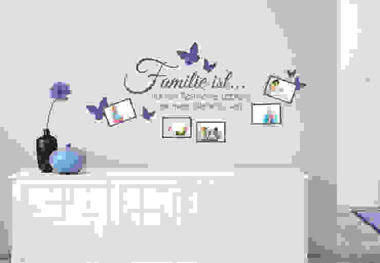 Wandtattoo - Familie ist... mit Platz für Fotos :   von K&L Wall Art,Ausgefallen