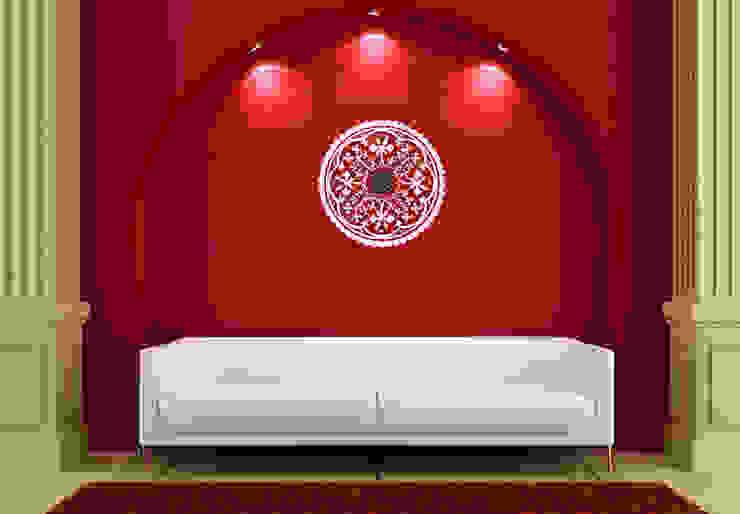Wandtattoo-Uhren - Ornament von K&L Wall Art Mediterran