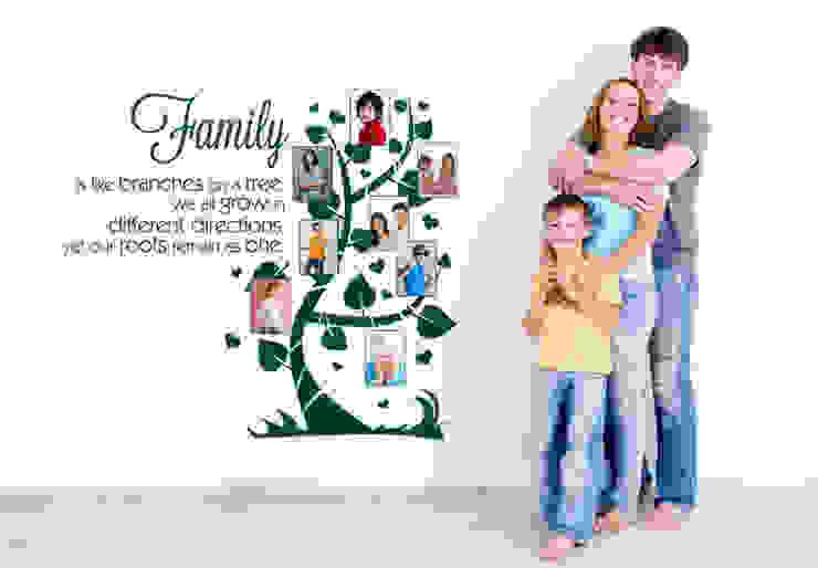 Wandtattoo - Family is like branches... mit Platz für Fotos von K&L Wall Art Ausgefallen