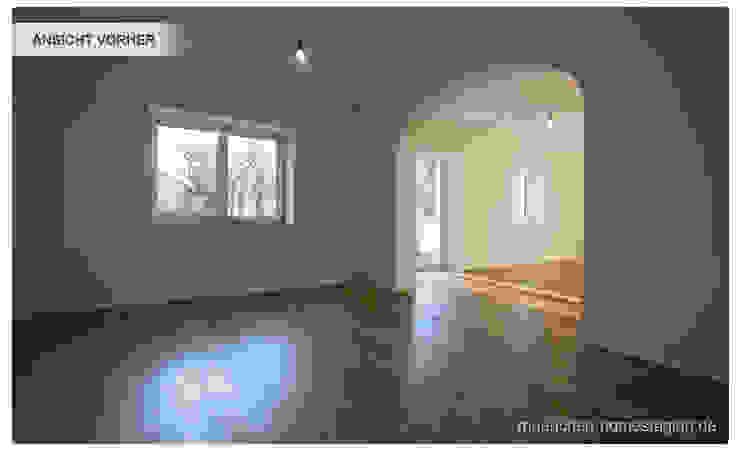 Esszimmer ohne Home Staging Münchner HOME STAGING Agentur Klassische Esszimmer