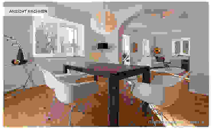 Esszimmer mit Home Staging Münchner HOME STAGING Agentur Klassische Esszimmer