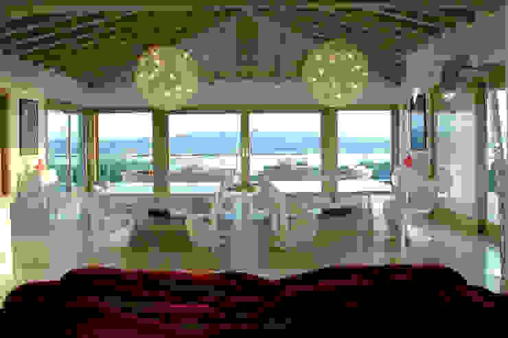 Villa in Sardinia Scultura & Design S.r.l. Living room