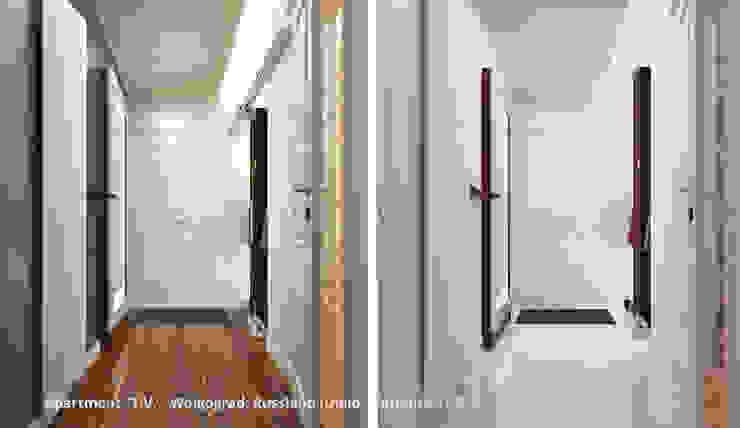 """Innenarchitektonische Neugestaltung Apartment """"T.V."""" - Wolgograd, Russland:  Flur & Diele von GID│GOLDMANN-INTERIOR-DESIGN - Innenarchitekt in Sehnde,"""