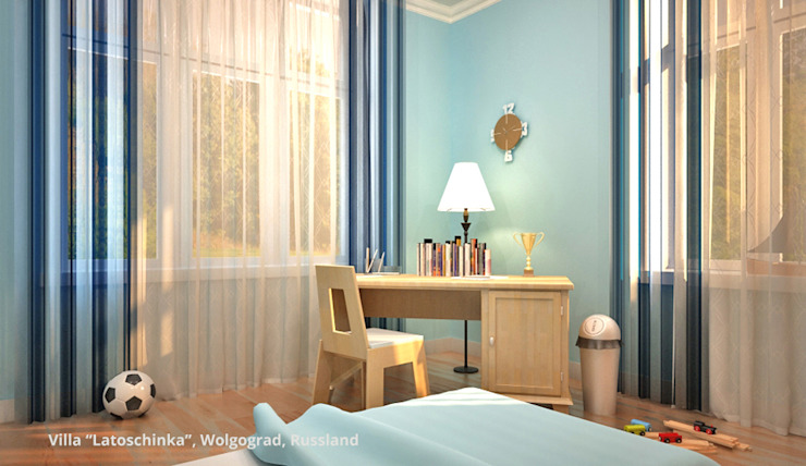 Classic style nursery/kids room by GID│GOLDMANN-INTERIOR-DESIGN - Innenarchitekt in Sehnde Classic