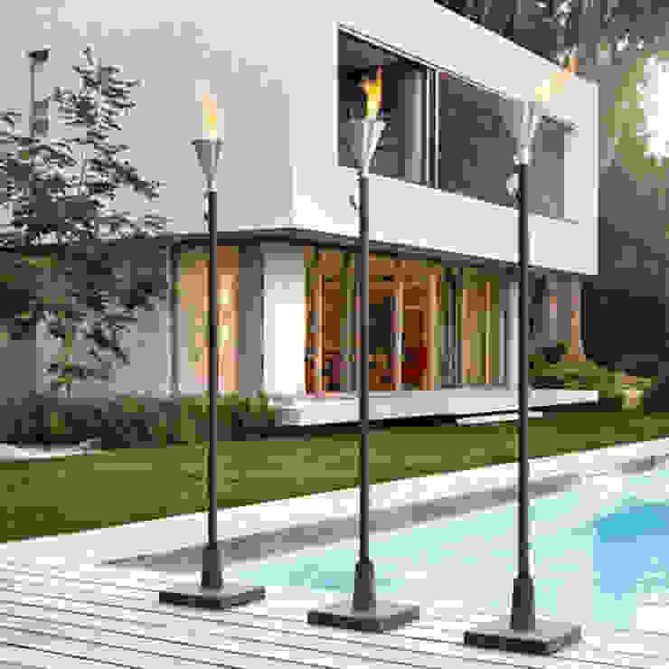 Designgartenfackel.: modern  von casa-elements,Modern
