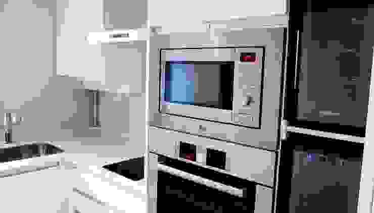 Cocina Dormitorios de N.A. Construcción