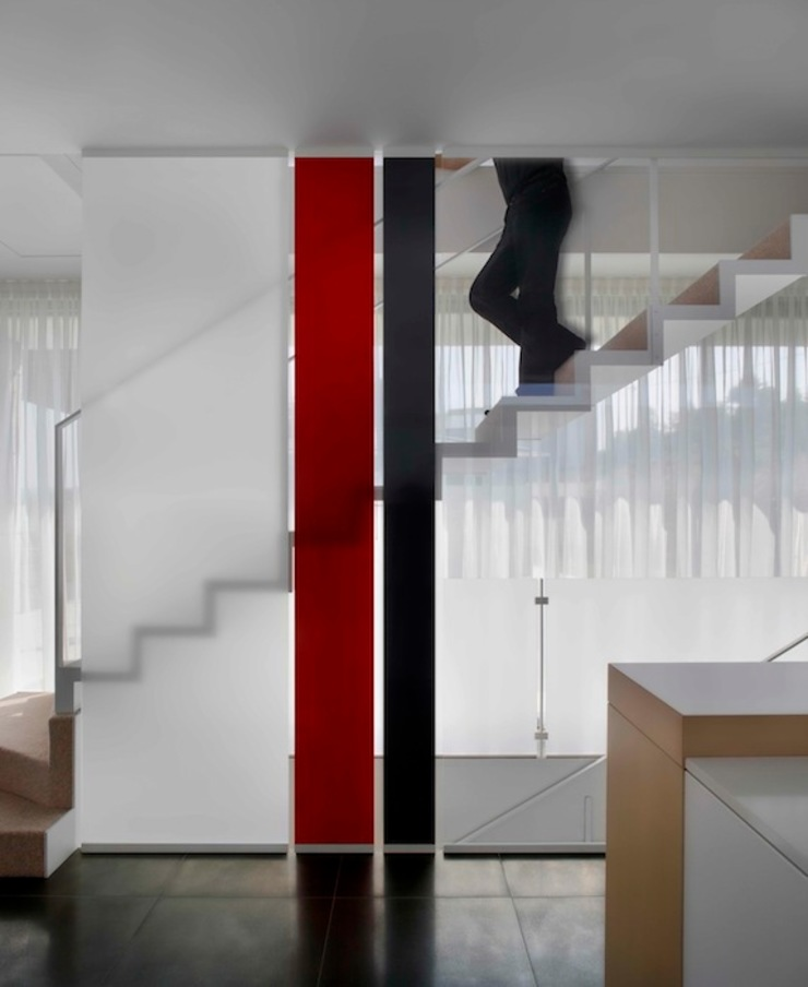 Casa Visiera Ingresso, Corridoio & Scale in stile moderno di ARCHICURA Moderno