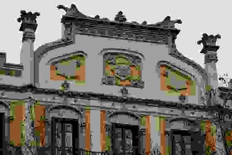 Detalle fachada Casas de N.A. Construcción