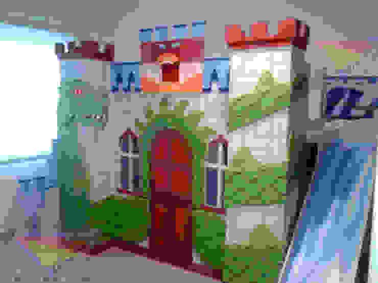 Impresionante castillo litera para niños de Kids Wolrd- Recamaras Literas y Muebles para niños Moderno