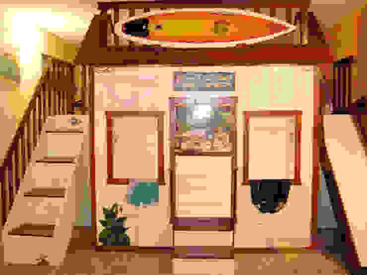 Divertida casita de surf de Kids Wolrd- Recamaras Literas y Muebles para niños Mediterráneo